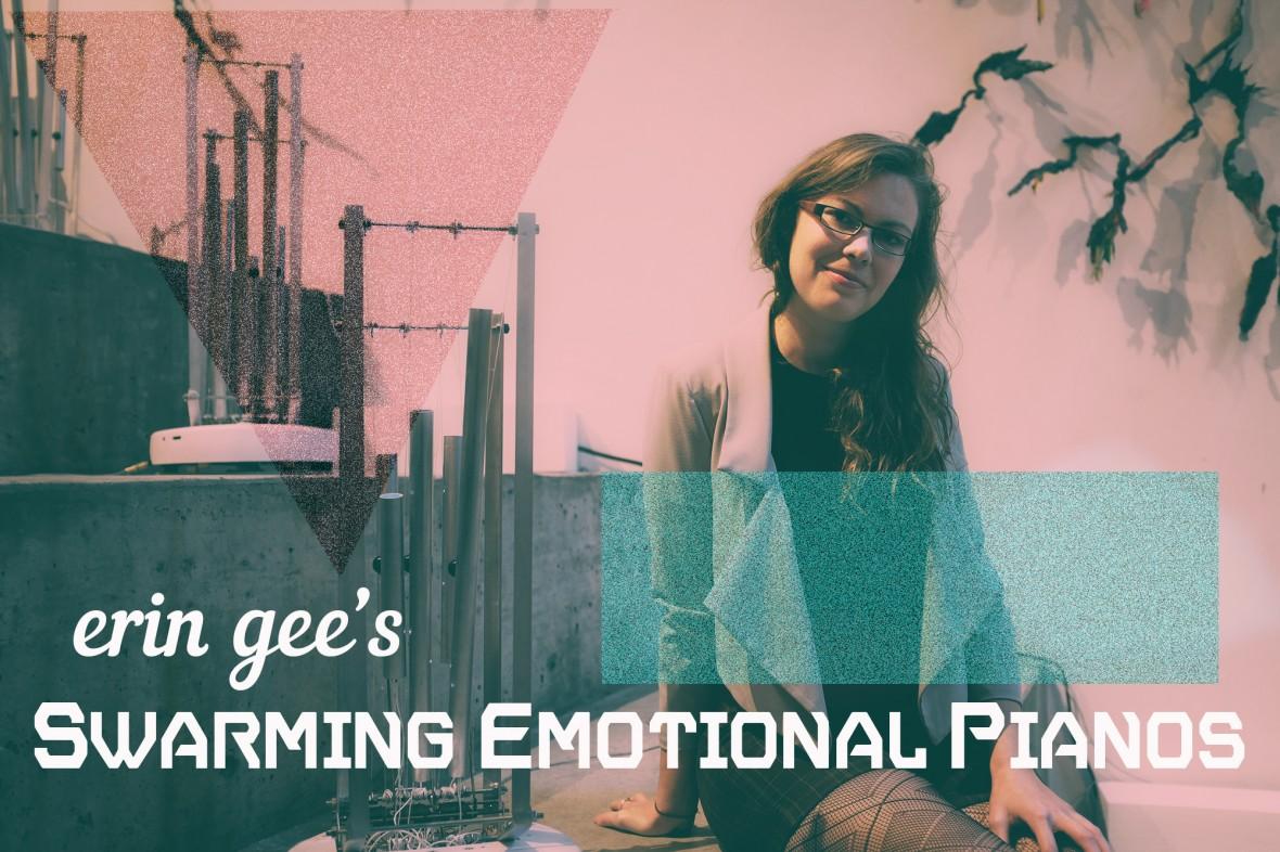Swarming Emotional Pianos