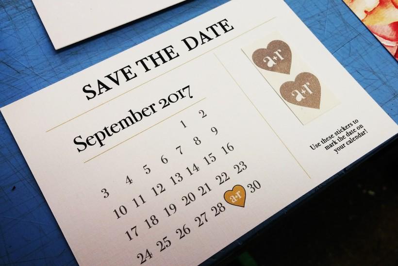 Wedding invitations :: Andrea + Rob